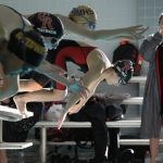 Swimming And Diving Compete At Arctic Blast