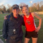 Boys Win; Girls Take 3rd; Wehrle Breaks Record At Archdiocesan Meet