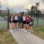 Lady Raiders Tennis Beats Heritage Christian