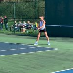 Girls Tennis Dominates Tech
