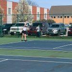 JV Tennis Beats Herron