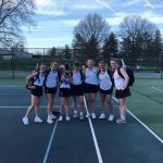 Tennis Competes At Home