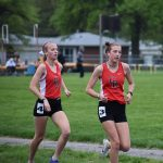 Girls Track Competes At Sectional