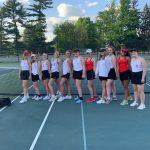 Girls Tennis Finish Season With 3-2 Win On Senior Night