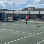 CRHS Boy's Tennis Scrimmages Danville And Preview