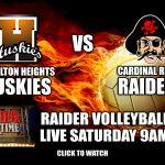 Volleyball Versus Hamilton Heights: Watch Live Here