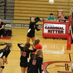 Volleyball Competes In Brownstown Invite