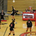 Lady Raiders Go 5 Sets: End Up Short