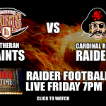 Raiders Versus Lutheran Football: Watch Live Here