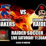 Raiders Versus Plainfield Soccer: Watch Live Here