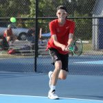 Tennis Team Loses To Scecina: Baker And Radecki Are Victorious