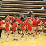 Volleyball Takes On 4A Plainfield