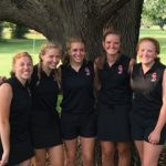 Lady Golfers Compete In Sectional; Schembre Moves On