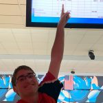 Bowling In Action; Rott 1 Pin Away From Perfect Game