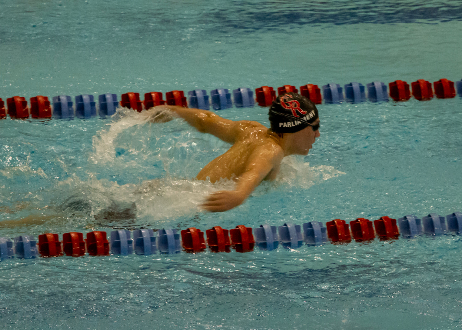 Swimming and Diving Raiders Crush Spark Plugs