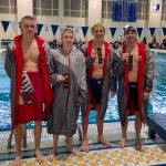 Boys Swimming And Diving Finishes 7th; Sets New School Record