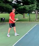Boys Tennis Take Conference Loss Versus Lutheran: Baker Posts Win