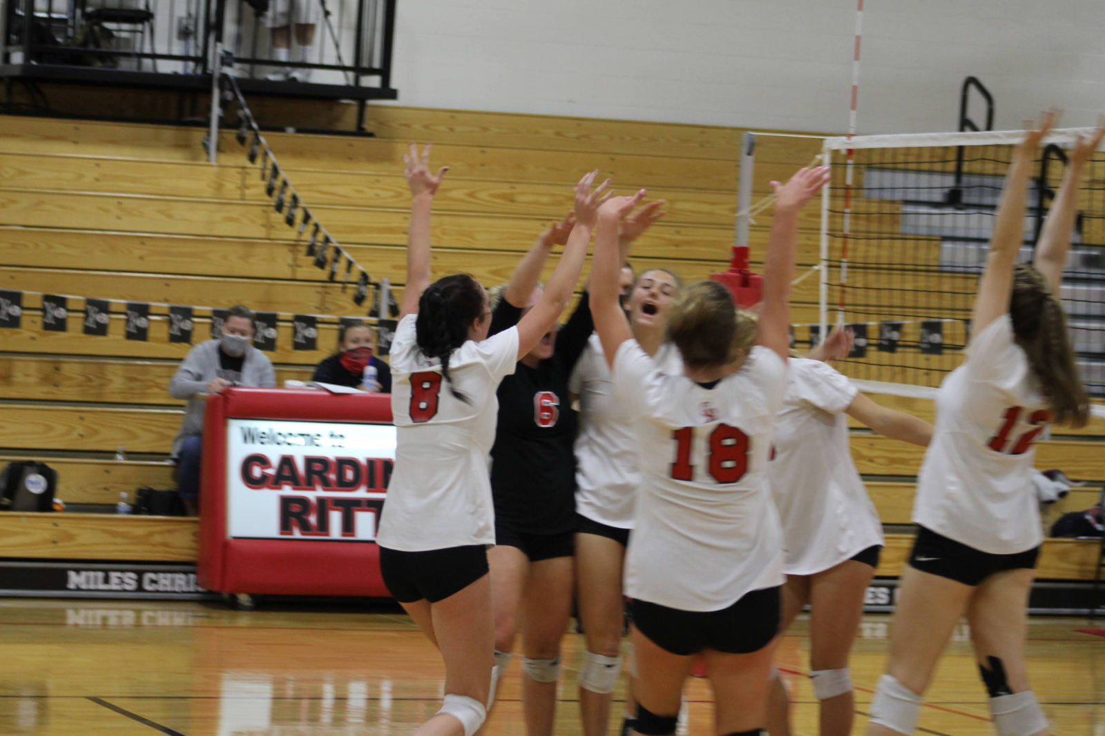 Volleyball Routs Covenant Christian