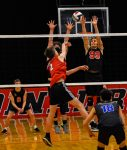 Ritter Boys Volleyball Cruises Versus Herron In Indy Metro Conference Match!