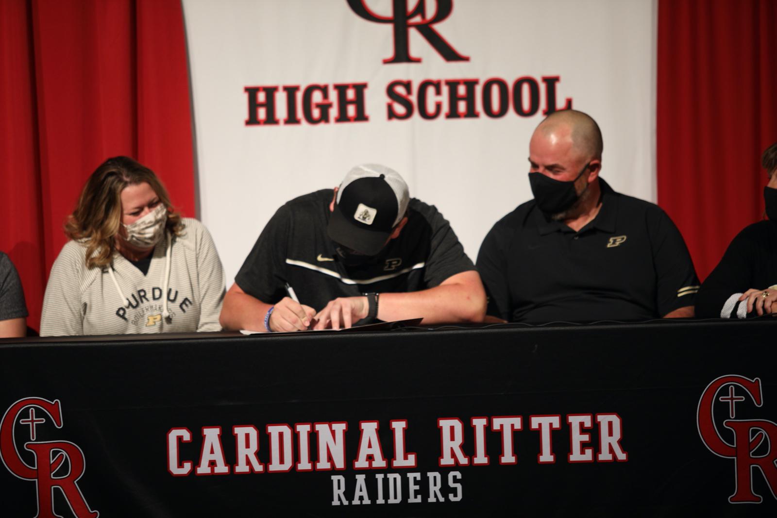 Aaron Roberts Signing to Purdue University