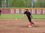 Lady Raiders Beat Brebeuf; Beaman Tosses Perfect Game, Hits Two Bombs