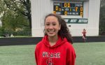 Girls Track Team Competes In City; Villarias Breaks Record
