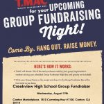 WEDNESDAY: TACO MAC NIGHT- Support Creekview Volleyball