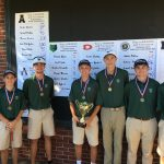 Creekview High School Boys Varsity Golf finishes 1st place