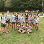 Coed Varsity Cross Country finishes 1st place at Cherokee County Championship