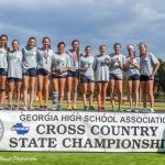 Coed Varsity Cross Country finishes 2nd place at 6A State Championship