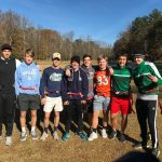 "Creekview Men's Soccer Team plays flag ""football"" at Goshen Valley Boys' Ranch."