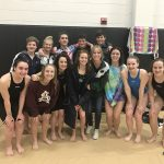 Girls Varsity Swimming finishes 5th place at NWGA Championship Meet