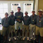 Boys Varsity Golf finishes 1st place at 2018 Boys Area 4-AAAAAA Golf Tournament