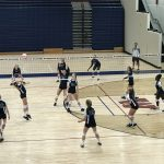 Girls Freshman Volleyball vs Denmark @ woodstock