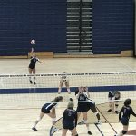 Girls Freshman Volleyball vs Woodstock