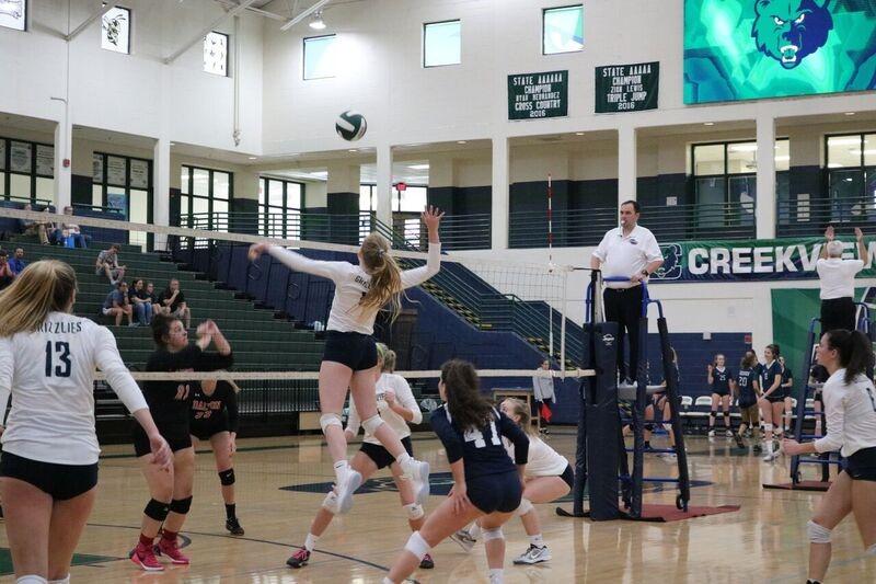 19-4 Varsity Volleyball has 2 HUGE games @ Sequoyah tonight 9/12/18!!!