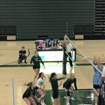 Girls Varsity Volleyball falls to Pope 3 – 1