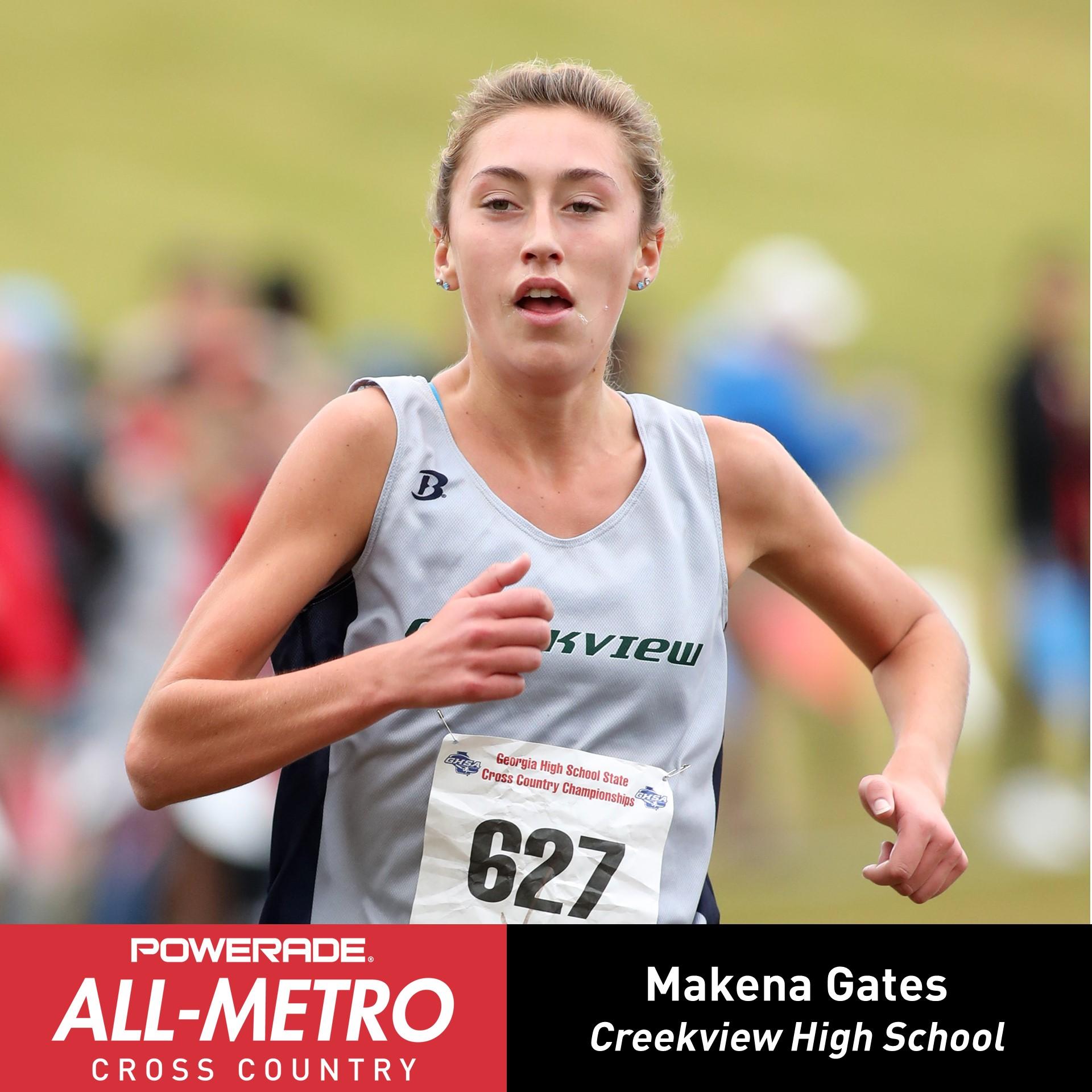 Makena Gates named to the All-Metro Team