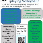 Did you miss the High School Volleyball Interest Meeting?