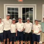 Boys Varsity Golf finishes 2nd place at Billy Peek Invitational