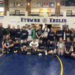 Varsity Wrestling beats Woodward Academy 47 – 28