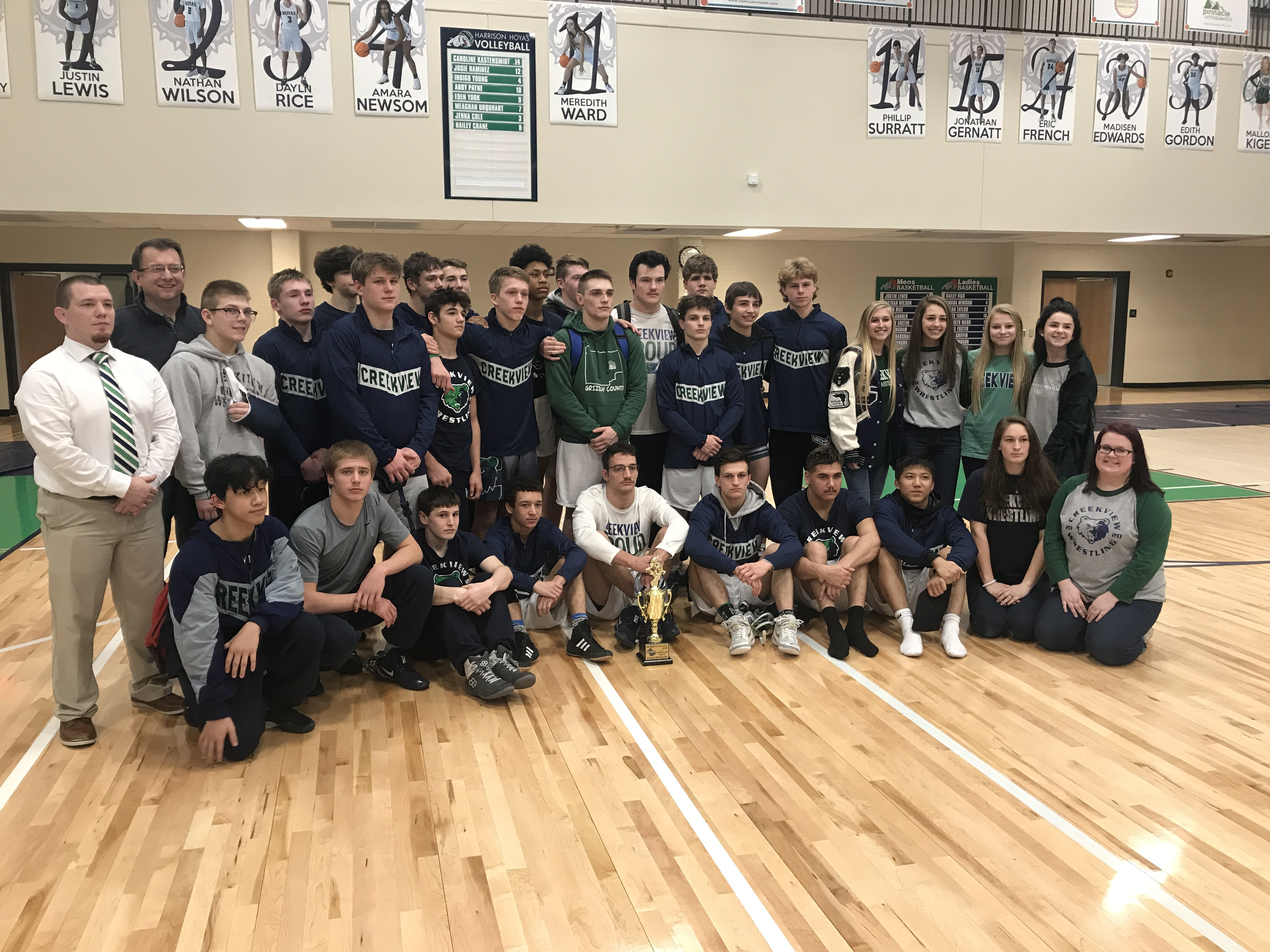 Grizzlies Earn the #2 Seed for State Duals
