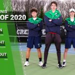 Congratulations Boys Tennis Seniors:  Cole Wright, Brice Trout and Luke Brown