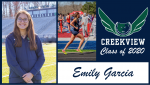 Creekview Track and Field Senior Spotlight – Emily Garcia