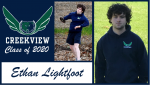 Creekview Track and Field Senior Spotlight – Ethan Lightfoot