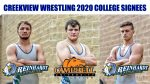 Creekview Wrestlers in College