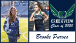 Creekview Track and Field Senior Spotlight – Brooke Purves