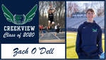 Creekview Track and Field Senior Spotlight – Zach O'Dell