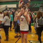THS Cheer at Regional Championships