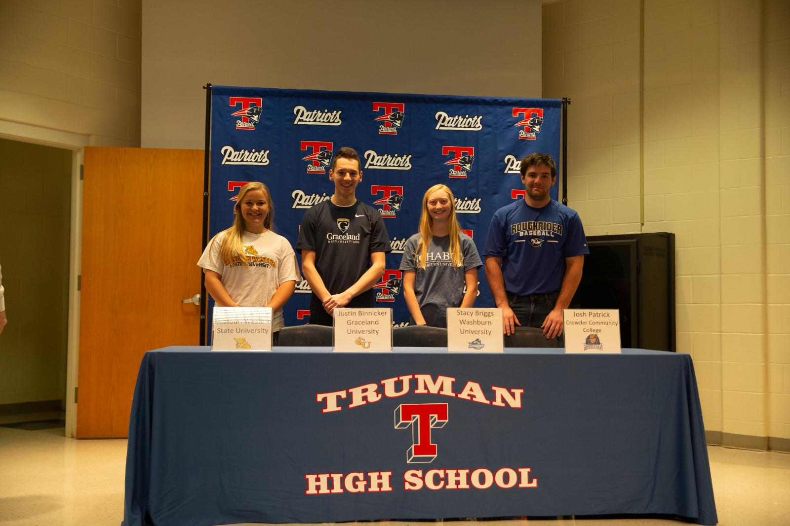 Signing Day at Truman!